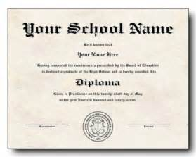 Free Diploma Templates by High School Diploma Template Printable Certificate