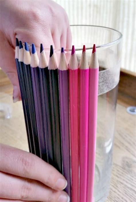 colored pencil vase appreciation gift colored pencil vase