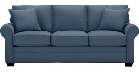 cindy crawford bellingham sofa bellingham indigo sleeper contemporary microfiber