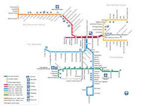 La Metro Map by Conceptdraw Samples Geo Maps