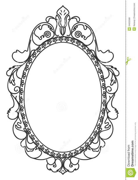 oval tattoo designs vintage oval frames vector pesquisa artesanato