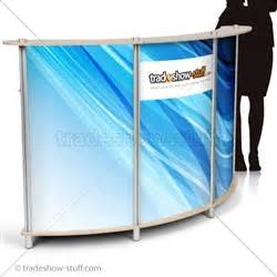 Portable Reception Desk Trade Show Portable Reception Desk