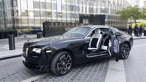 black rolls royce rolls royce wraith black badge 2017 to be different