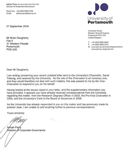 Jury Service Letter Recorded Delivery mathematics at portsmouth attempting to get a refund