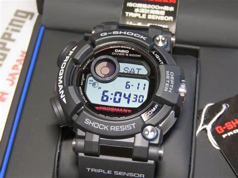 G Shock Frogman Gwf D1000 1 g shock frogman gwf d1000 1 with depth meter and dlc coating