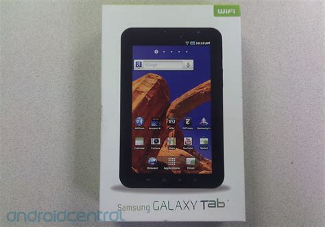 Samsung Tab Wifi Only Wifi Only Samsung Galaxy Tab Snagged Early By A Cagy Reader Android Central