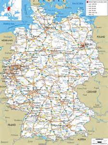 A Map Of Germany by Geography Blog Detailed Map Of Germany