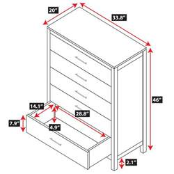 bedroom dresser dimensions bedroom dresser dimensions