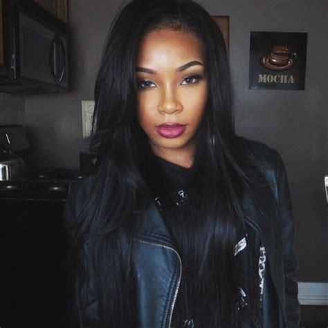 ebony hair cheyenne instagram photo taken by aaliyahjay on instagram pinned via the