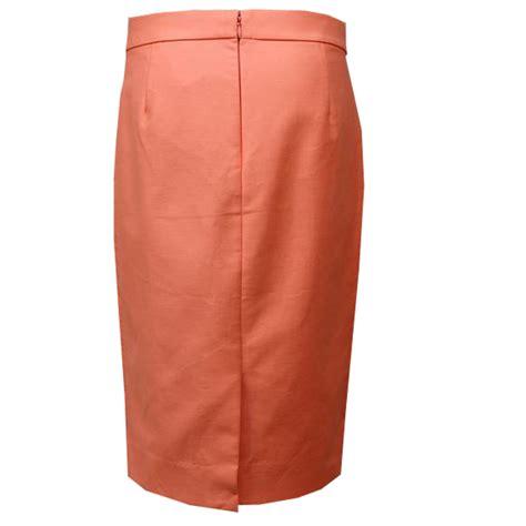Cotton Pencil Skirt cotton melon pencil skirt elizabeth s custom skirts