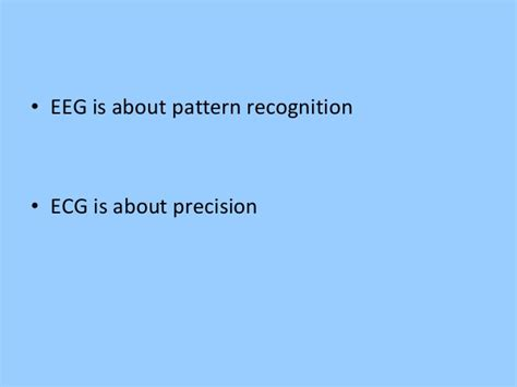 what is the difference between pattern recognition and machine learning eeg in pediatric dnb pediatric