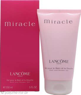Lancome Miracle Shower Gel lancome miracle shower gel 150ml