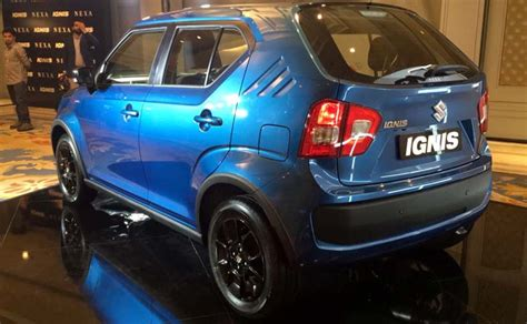 Suzuki Ignis List Bumper Depan Jsl Front Bumper Trim Emboss Chrome maruti suzuki ignis bookings commence waiting period variants expected price and other