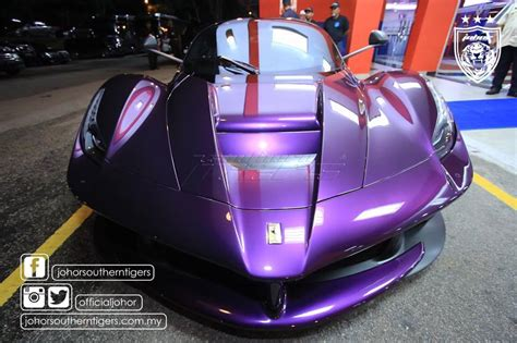 purple laferrari tmj s purple laferrari starts up plus tpj s