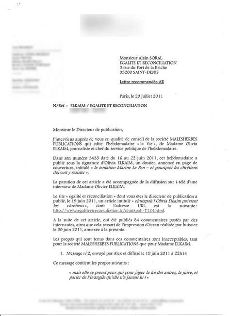 Exemple De Lettre De Mise En Demeure En Anglais Exemple Mise En Demeure Batiment Document