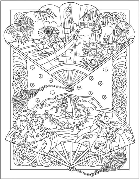 vintage geared charm coloring book books creative coloring pages by dover on