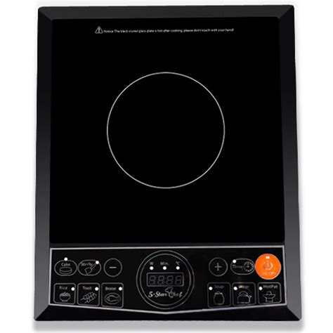 Single Induction Cooktop Reviews 5 Star Chef Induction Portable Single Cooktop Buy