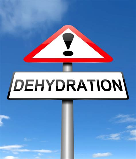 dehydration of are you enough water signs you may be