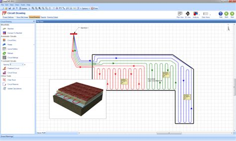 How To Do Floor Plan by Loopcad Radiant Heating Software