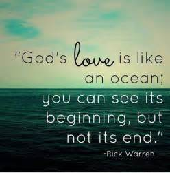 Quotes About Gods Love by Rick Warren On Twitter Quot God S Love Is Like An Ocean You