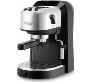 buy delonghi ec271 espresso pump coffee machine black silver free delivery currys