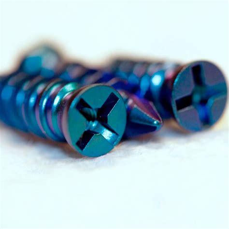 titanium color titanium anodize colors titanium finishing company