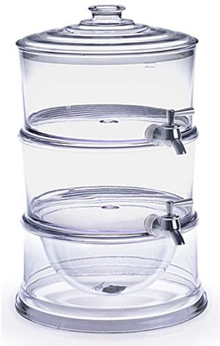 Stackable Beverage Dispensers 2 Gallon Containers For Containers For Buffet