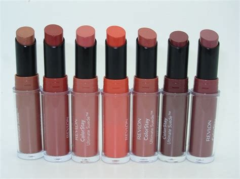 Lipstik Revlon Review revlon revlon colorstay suede lipstick review
