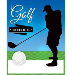 Golf Tournament Vector Images Over 3 800 Golf Journal Template