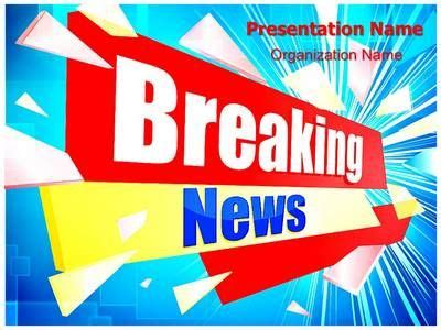 breaking news network latest news top headlines german bash journalism breaking news powerpoint template is one of the