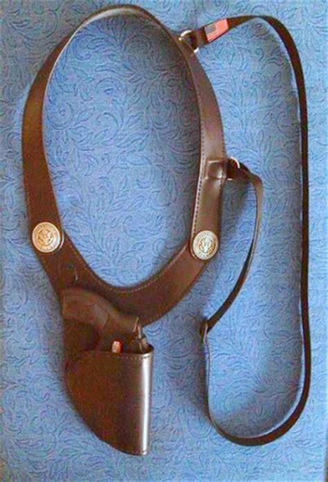 Handmade Leather Shoulder Holster - j r roscoe handmade leather shoulder holsters