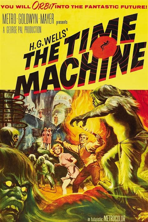 The Time Machine the time machine 1960 amazing posters