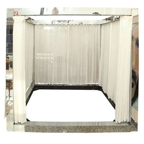 King Canopy Bed Frame Paul Cityscape King Canopy Bed Frame Signed At 1stdibs