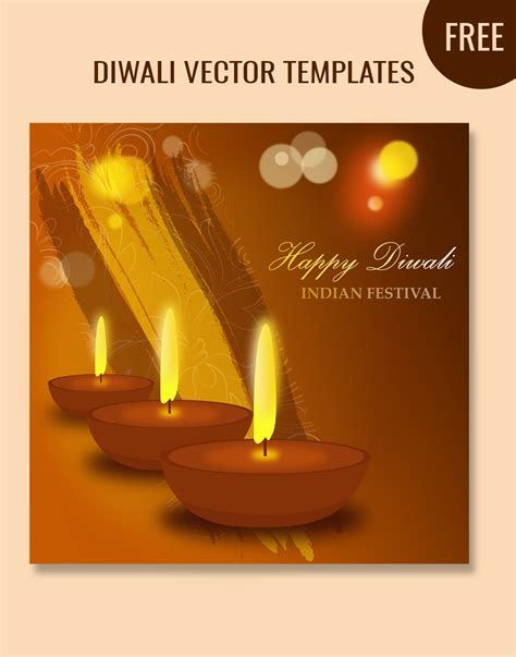 free diwali cards templates diwali graphics templates