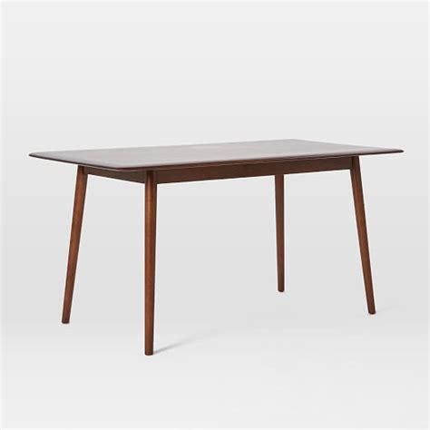 mid century table lena mid century dining table west elm