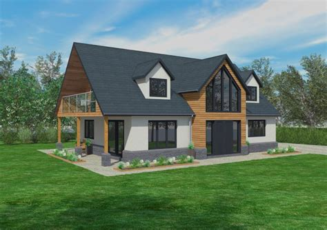 home design type of house chalet bungalow bungalow front new the cranbrook timber framed home designs scandia hus