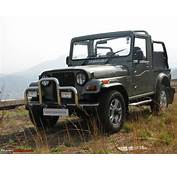 Mahindra Thar  Now With A/C And Immobilizer Team BHP