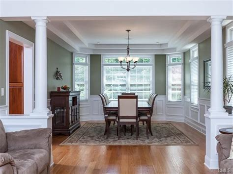 Dining Room Tray Ceiling by Formal Dining Room With Tray Ceiling And Picture Frame