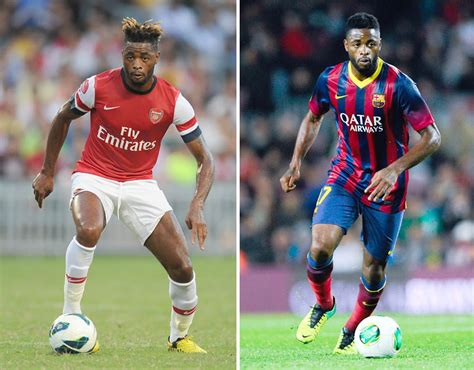 arsenal barcelona 2006 alex song the stars who have played for arsenal and