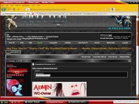 free Megashares Premium Account - YouTube Megashares