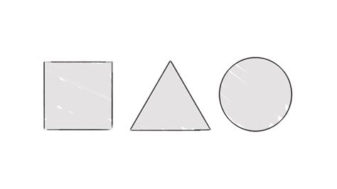 draw shapes if you can draw these three shapes you can draw the