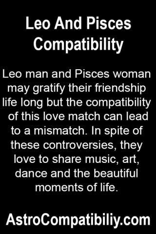 leo man and pisces woman leo and pisces