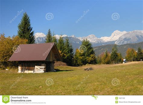 Alpine Cottages by Alpine Cottage Stock Photography Image 1621122
