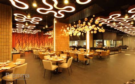 designing a restaurant various types of lighting for false ceiling interior