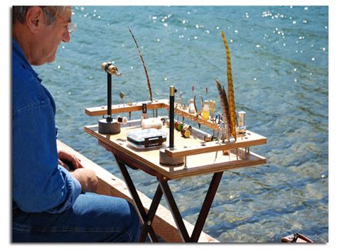 fly fishing bench portable fly tying bench plans plans diy free download