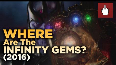 where are the infinity gems now 2016 edition