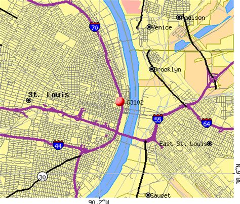 zip code map st louis st louis missouri zip code map pictures to pin on
