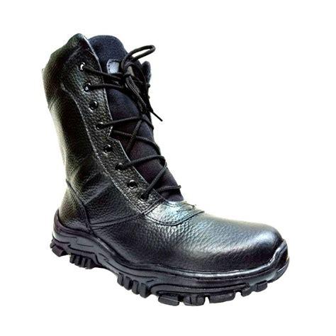 Harga Sepatu Boots Pdl jual mandien s pdl tni mile sepatu boots pria hitam