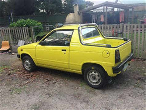 Suzuki Mightyboy Suzuki Mighty Boy Ute
