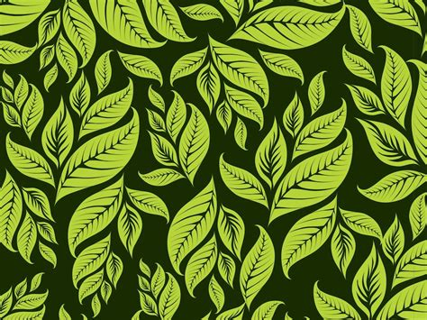 leaf pattern vector www pixshark com images galleries